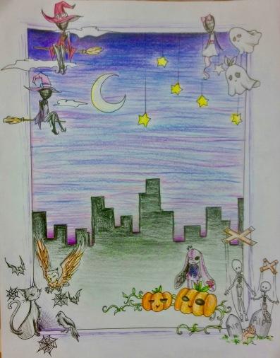 Joyeuse Halloween - Juliet Wang