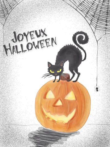 Joyeuse Halloween - Kristie Yeung